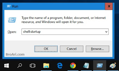 Menambahkan Program Startup di Windows 10