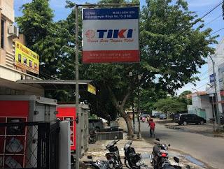 Alamat agen TIKI di Semarang.