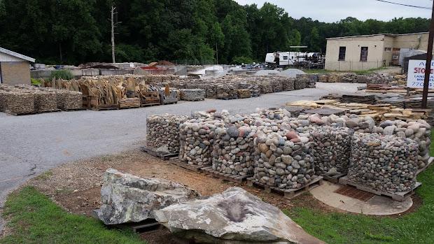much landscape boulders