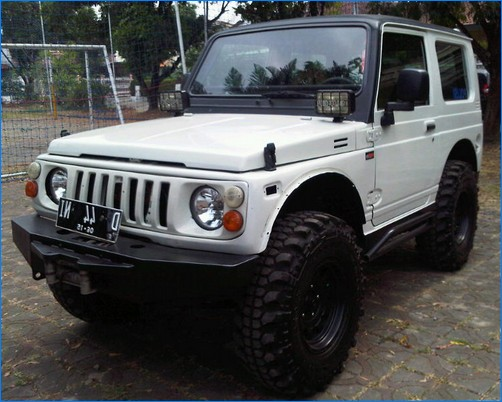 Foto-foto Modifikasi Suzuki Jimny Katana - Gambar.photo