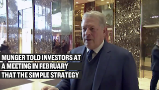 Charlie Munger says Al Gore is 'not very smart,' but became filthy rich using this simple investing formula