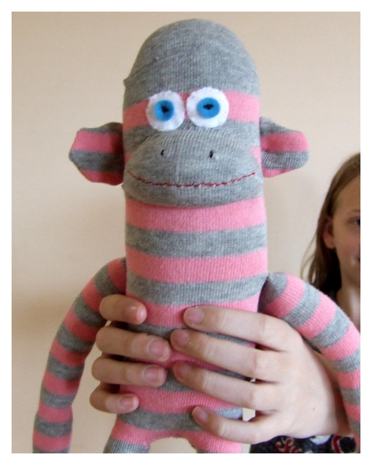 Fitzbirch Crafts Simple Sock Monkey