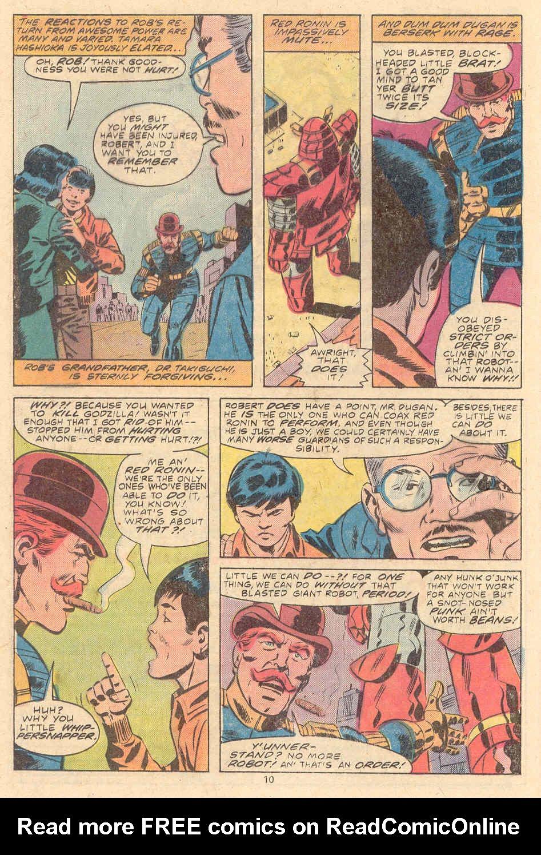 Godzilla (1977) Issue #9 #9 - English 7