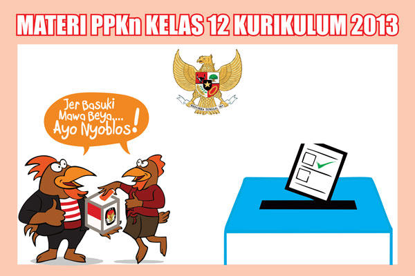 Materi Pelajaran PKn Kelas 12 SMA/SMK Kurikulum 2013