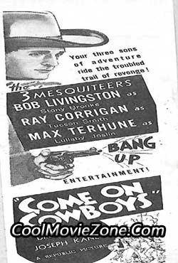 Come on, Cowboys (1937)