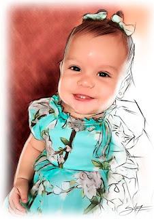 retratos de bebês