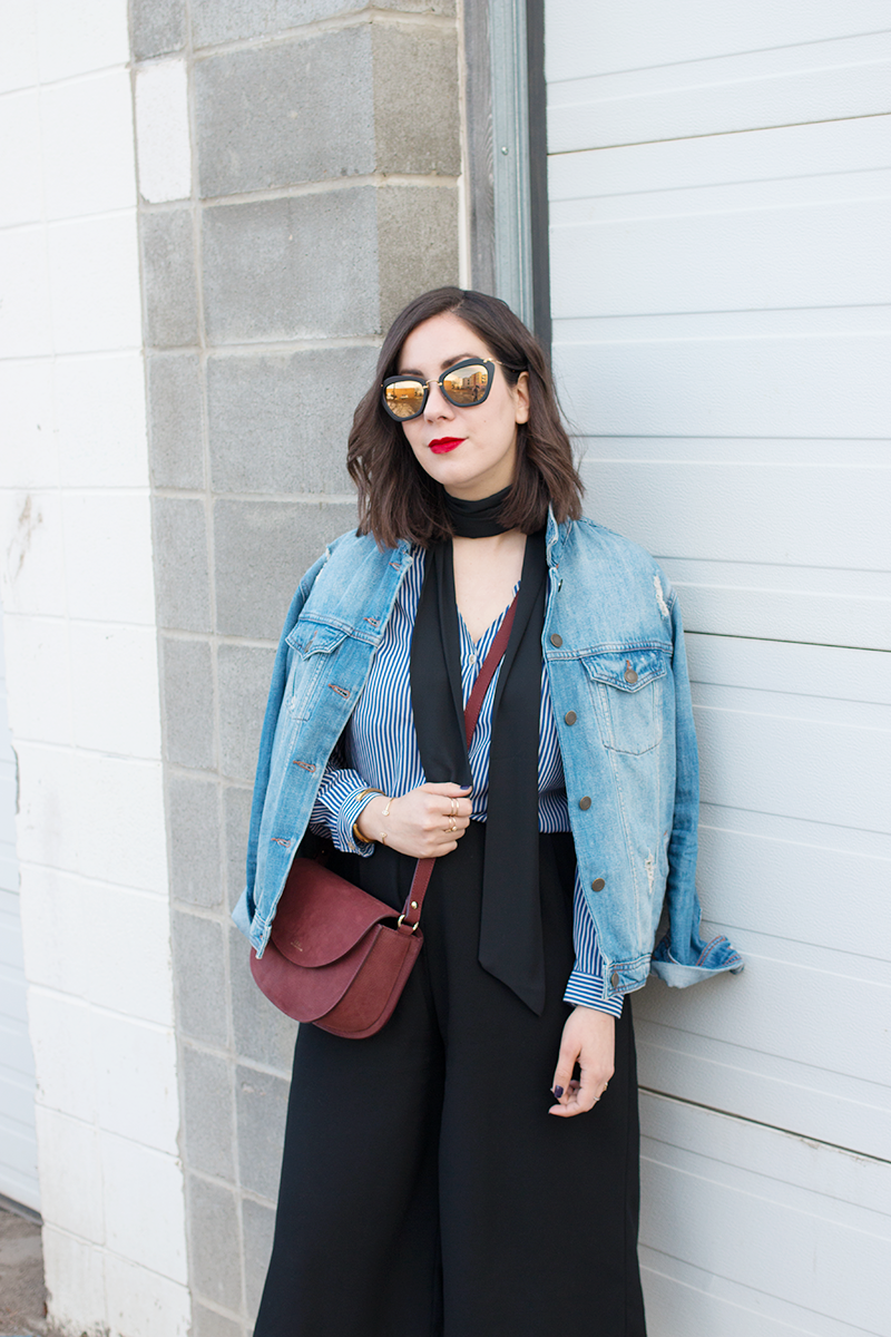 How to style a denim jacket for spring