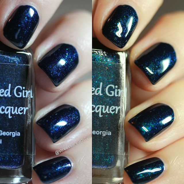Blue-Eyed Girl Lacquer Curiosity Door