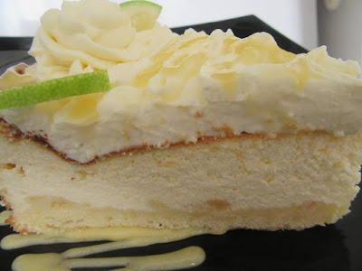 Torta od sira i lemon curda / Lemon curd cheesecake