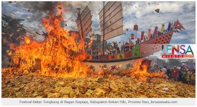 Festival Bakar Tongkang Bagan Siapi-api