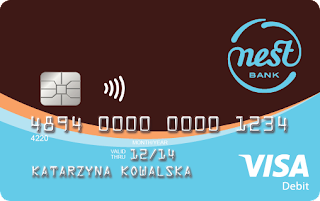 Darmowa karta Visa w Nest Bank
