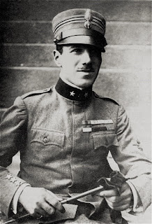 Francesco Baracca in his airman's uniform in 1916