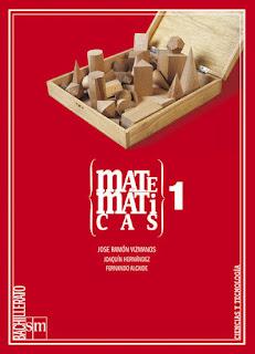 Libro Matemáticas 1º Bachillerato SM