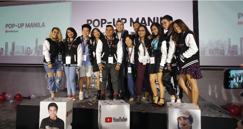 YouTube NextUp Manila winners join the 2017 #YouTubeSpaceMNL.