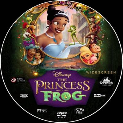 DVD The Princess and the Frog 2009 animatedfilmreviews.blogspot.comn