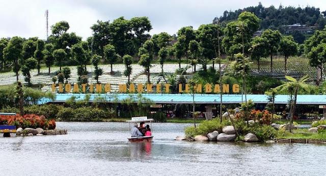 Tempat wisata yang ada di Bandung ini sanggup anda jadikan acuan berlibur anda selanjut Floating Market Lembang, Wisata Belanja Yang Unik