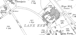 Hope Mill, OS map, 1928.