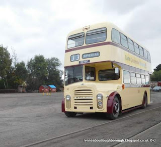 Leicester 1964 Leyland PD3A/1 double decker bus