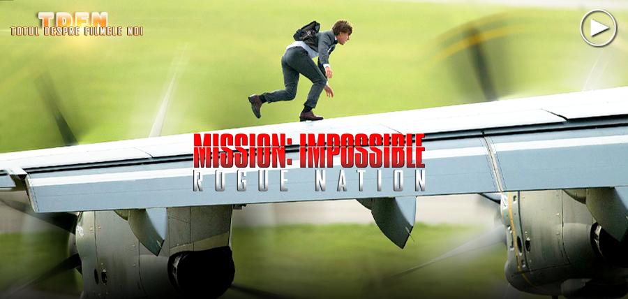 Tom Cruise ridică ştacheta acţiunii la un alt nivel în Mission Impossible 5: Rogue Nation