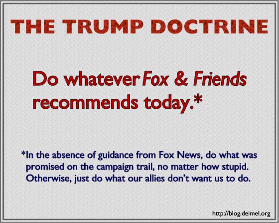 The Trump Doctrine