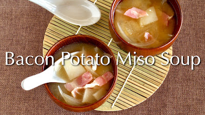 Bacon Potato Miso Soup