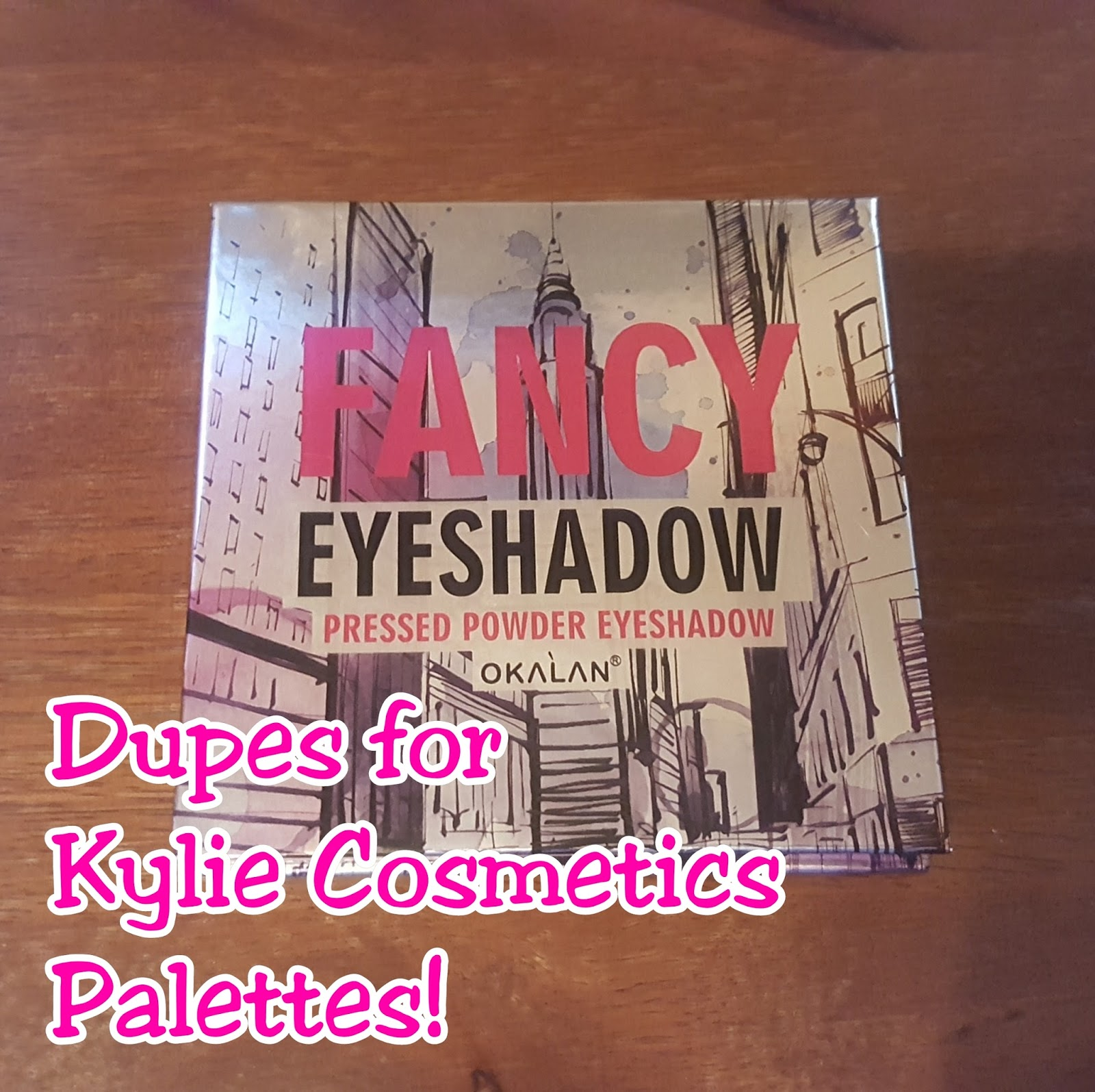 Review: hush  - Kylie Burgundy & Bronze Palette Dupes!