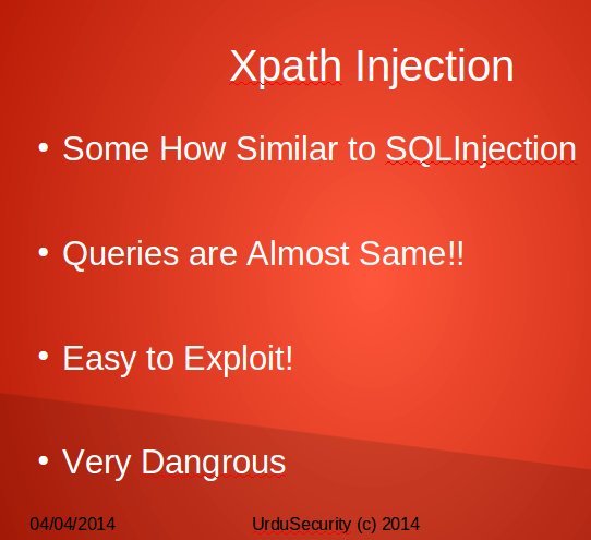 Xpath injection Tutorial