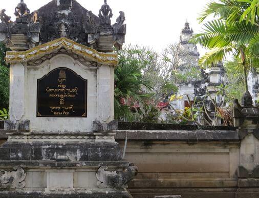 Ped Temple Nusa Penida, Pura Penataran Ped