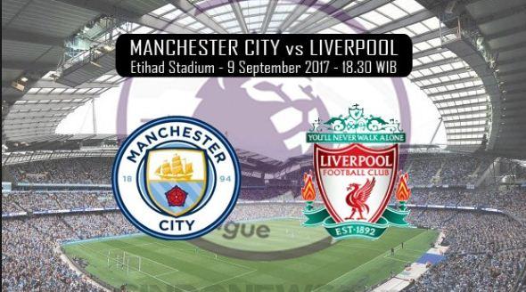 Susunan Pemain Manchester City vs Liverpool