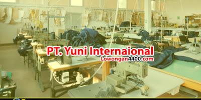 Lowongan Kerja PT. Yuni Internaional Bogor