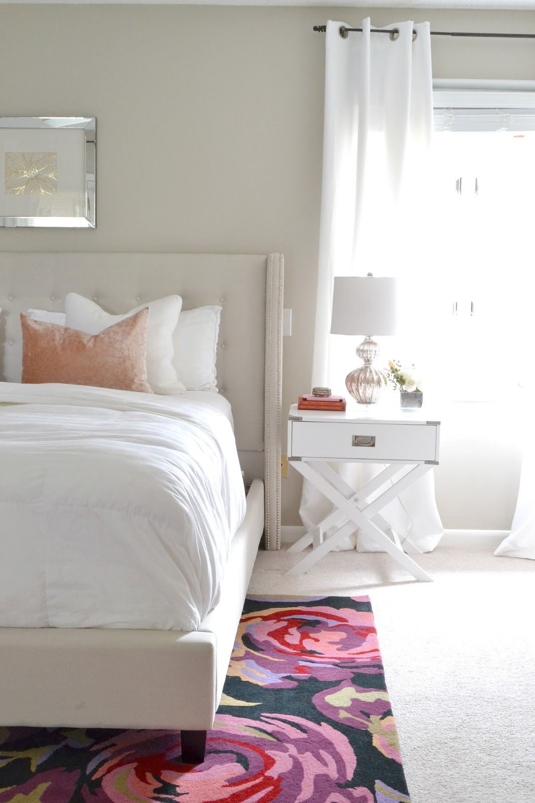 Master Bedroom Updates livelovediy: master bedroom decorating updates!