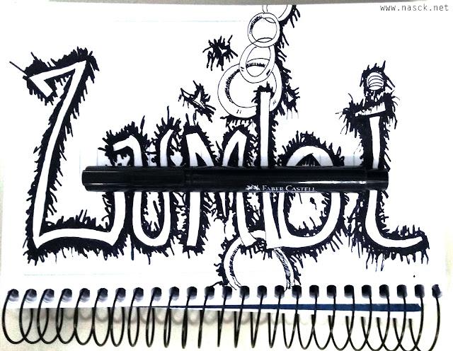 Lettering para Zumbi