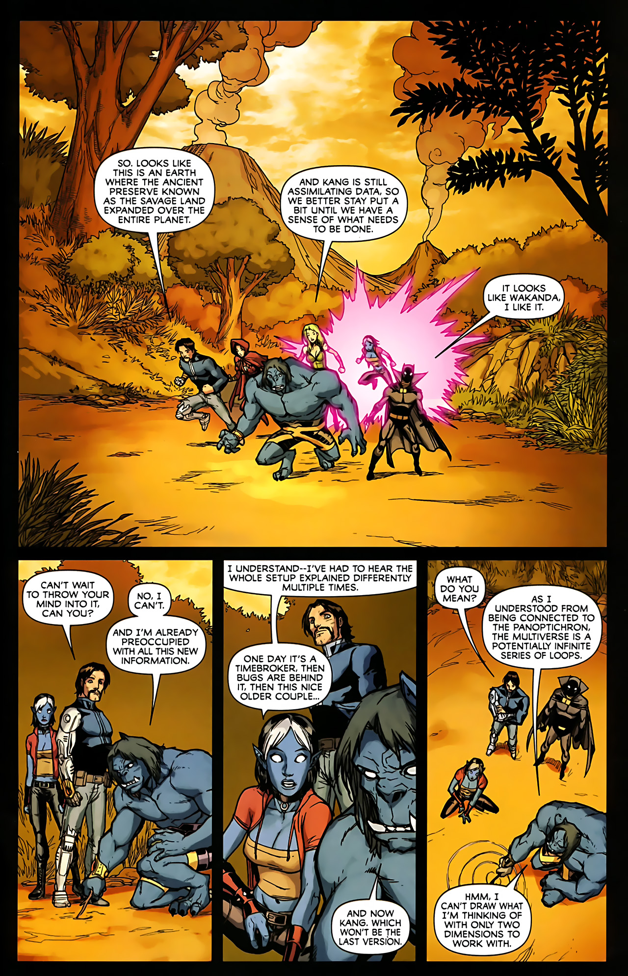 Read online Exiles (2009) comic -  Issue #6 - 39