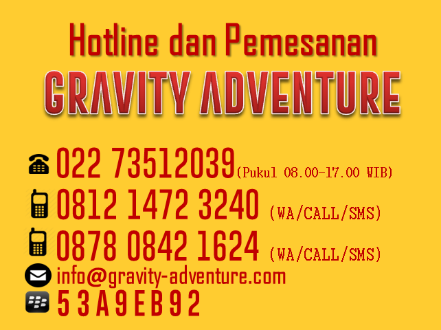 Kontak Rafting Palayangan Gravity Adventure Bandung