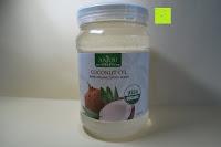 Dose: Kokosöl Anjou Naturbelassen Kaltgepresst und Nativ für Haare, Haut, Küche,Backen, Gesundheit, Pflege, USDA-Zertifikat, 946ml