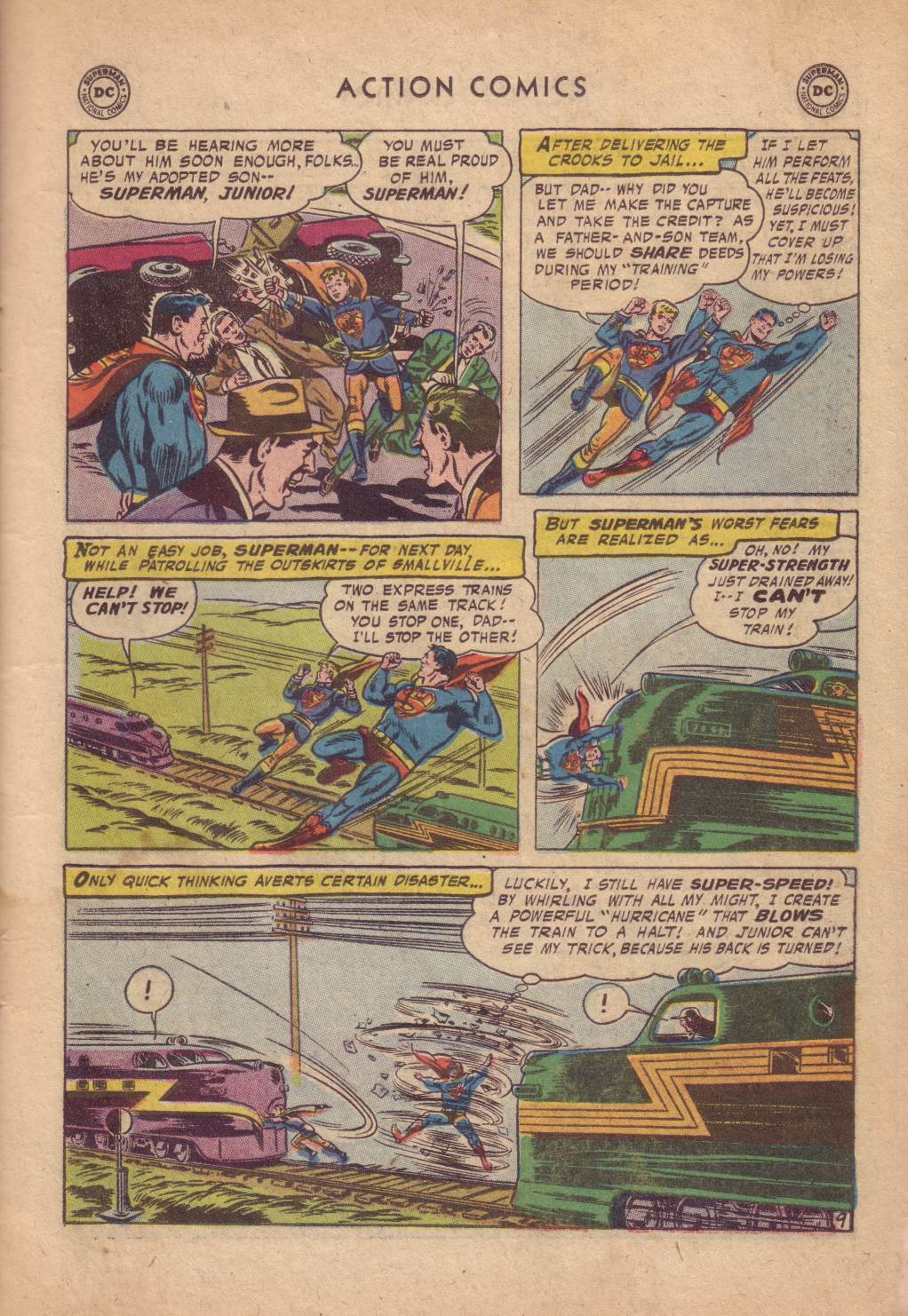 Read online Action Comics (1938) comic -  Issue #232 - 11