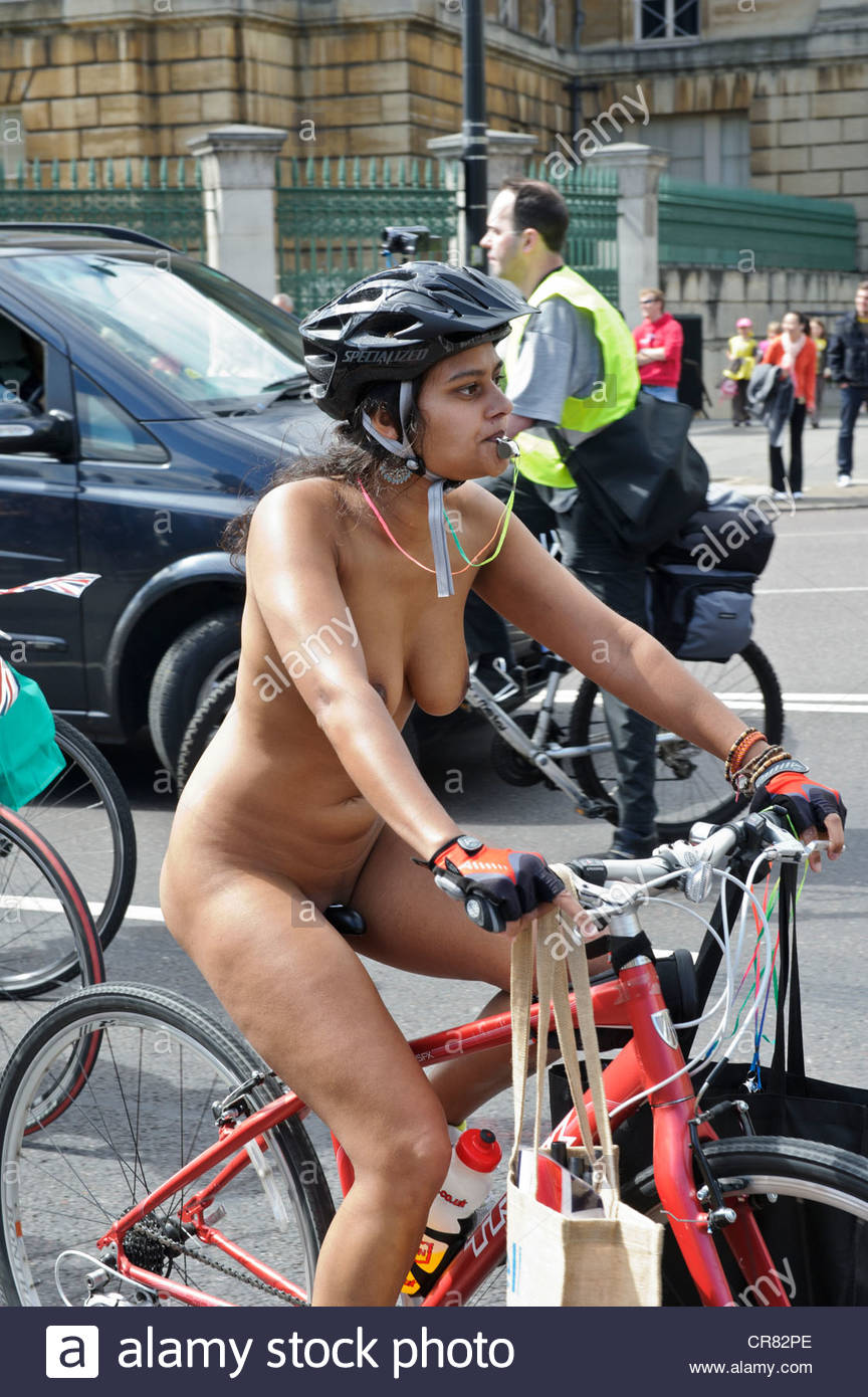 World Naked Bike Ride Indian-6902