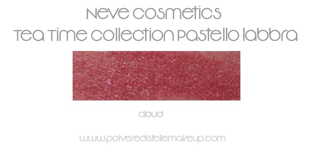 Neve Cosmetics Pastello Labbra Cloud swatches