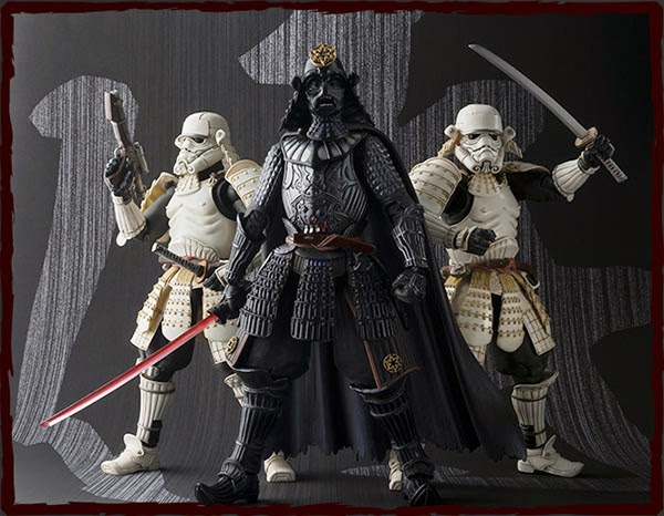 Star Wars Bandaï Movie Realization Samurai Figures
