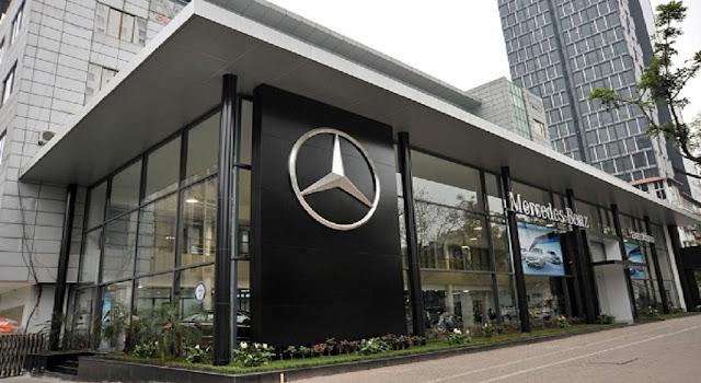 Mercedes Haxaco Hà Nội có phòng trưng bày đạt tiêu chuẩn cao nhất của Mercedes trong khu vực châu Á