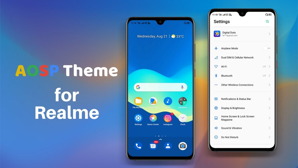 AOSP Theme for Realme Devices