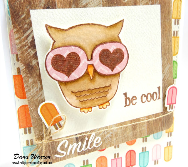 Dana Warren - Kraft Paper Stamps - Unity Stamp Co