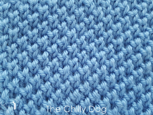 How to knit the Twisted Seed Stitch or Beehive Waffle Stitch