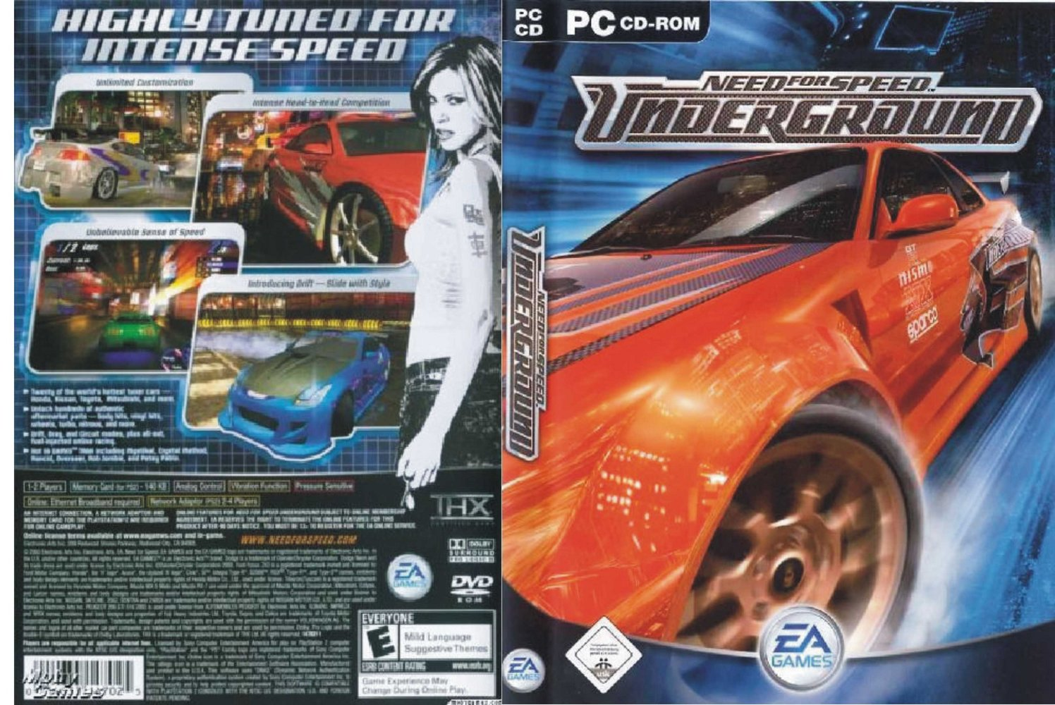 Free Download Pc Games Need For Speed Underground Full Version