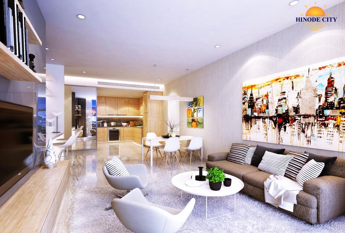 Thiết kế căn hộ của dự án Hinode City 201 Minh Khai