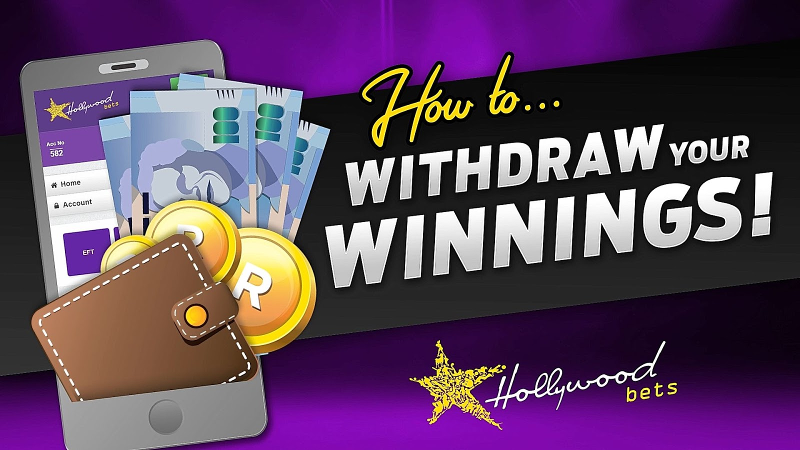 How to withdraw your winnings at Hollywoodbets