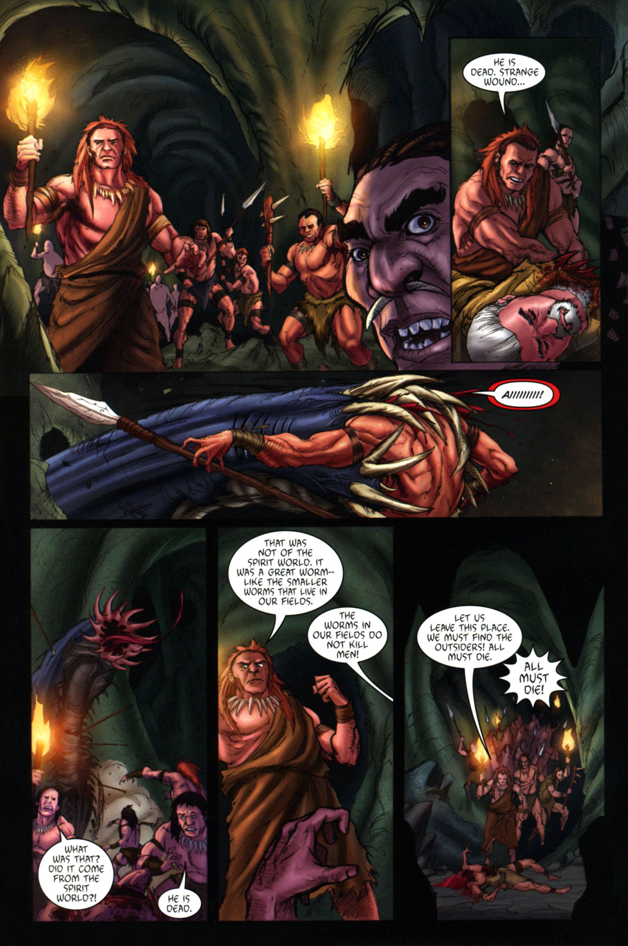 Read online Jungle Girl comic -  Issue #4 - 23
