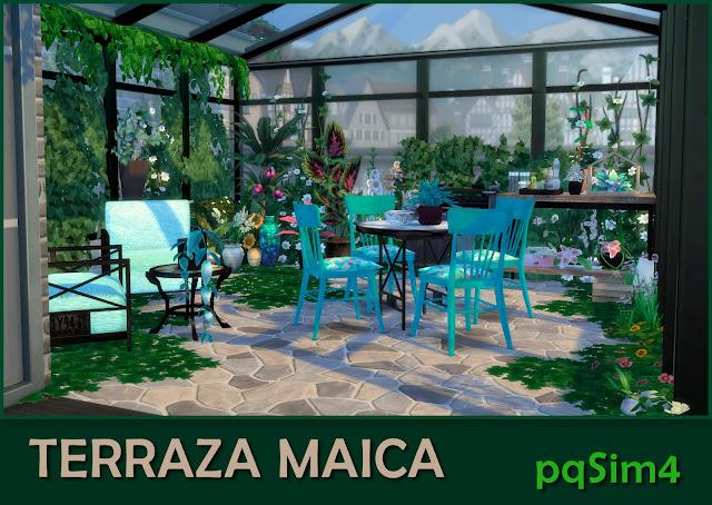 Terraza Maica Detalle 1.