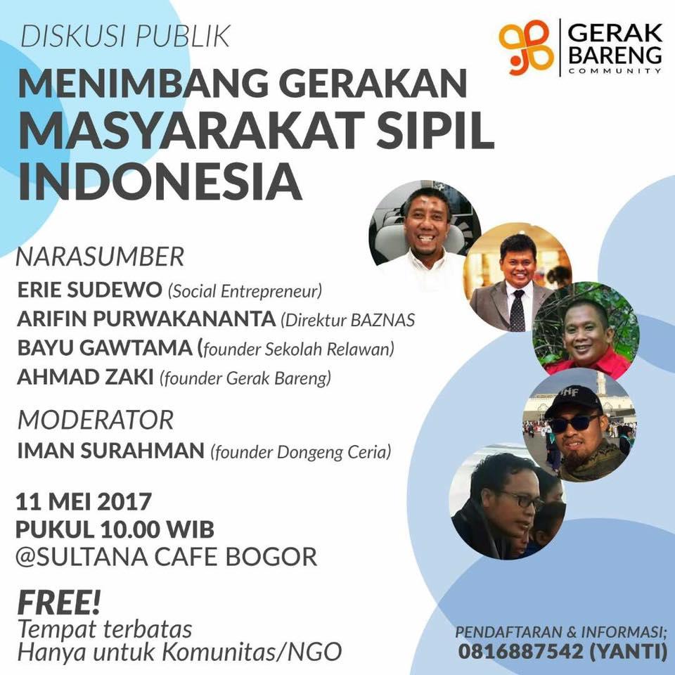 Menimbang Gerakan Masyarakat Sipil Indonesia