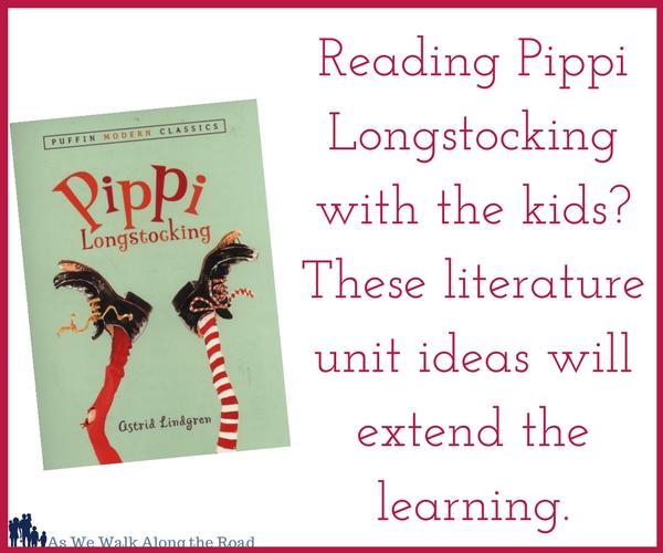 Pippi Longstocking literature unit